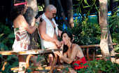 Private.com Laia Prats & Sara Rey Outdoor Action Horny Whores Having Wild Sex In The Forest