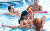 Private.com Yoha Galvez & Diana Dean Whores In The Pool Horny Whores Sucking Cock In The Aqua Park