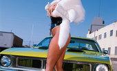 Private.com Nicki Hunter Blonde With Fishnet Stockings Sucks Cock Hot Blonde In Fishnet Stockings Sucks Cock