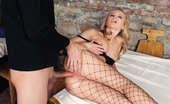 Private.com Dora Venter Girl In Sexy Fishnet Tights Fucking Babe Is Sexy In Her Fishnet Tights Fucking