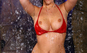 Aziani This Is Why Being Part Of The Aziani Crew Is The Greatest Job On Earth: Cassia Riley Naked And Wet Under A Waterfall. It'S A Bit Cold At First But That Doesn'T Deter Cassia From Getting Wet Anyhow.