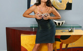 Aziani Claudia Valentine Looks Sexy In Her Little Black Dress...And Even More Out Of It!