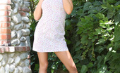 Aziani Riley Evans Gets Naughty And Strips Down To Nothing Outdoors!