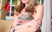 Aziani Anita Dark Lights Up The Camera With Her Sweet Smile And Shaved Pussy!