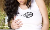 Aziani Busty Brunette Babe, Jelena Jensen, Shows Off Her Incredible Big Boobs And Smoking Body In And Out Of Her Aziani Gear!