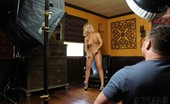 Aziani Behind The Scenes With The Blonde, Very Hot And Sexy Nicole Aniston.