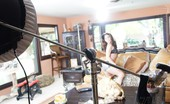 Aziani Behind The Scenes With The Sexy And Hot Gracie Glam.