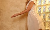 Aziani 140766 Cherie Deville Takes A Hot Shower In Her Clothes And Then Strips Them Off.