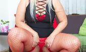 Mature.nl Succulent Blonde Housewife Teasing