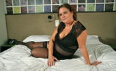 Mature.nl Naughty Dutch BBW Getting Ready For Bedtime