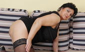 Mature.nl Big Breasted Mature Slut Doing Two Guys At Once