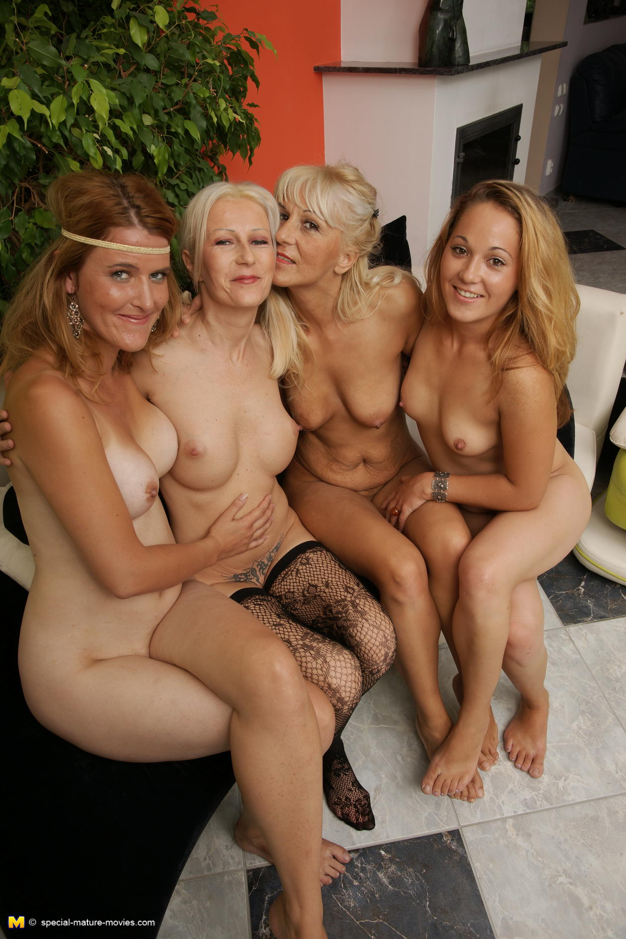 In groups sex Nude