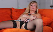 Mature.nl Blonde Housewife Getting Herself Wet And Horny