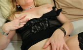 Mature.nl Blonde Housewife Shows Her Pussy And Plays With It