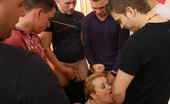 Mature.nl Kinky Mature Mama Takes On Seven Guys