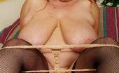 Mature.nl Big Titted Mama Playing With Herself