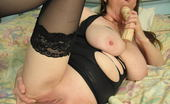 Mature.nl Big Titted Mama Playing With Herself All Day Long