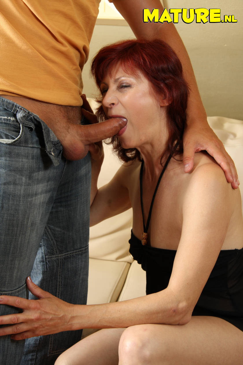 Mature Nl Old Redhead Sucking Dick And Gettin Fucked 141772