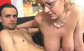 Mature.nl This Big Titted Momma Sure Wants That Cock