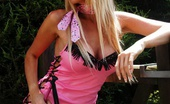 Lucy Zara 145119 Pink Show Girl Is Out In Public With No Panties On, She Such A Naughty Tease
