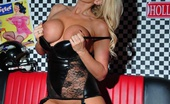 Lucy Zara Glamour Babe Is Wearing Her New Black PVC Corset And FF Stockings. I Hope You Love Seeing Her In Them As Much As She Likes Toying Herself Wearing Them