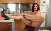 Young Fatties Chubby Young Beauty Gets All Naked In Kitchen