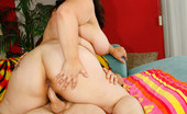 Young Fatties This Asian Fatty Knows How To Ride Big Cock Right