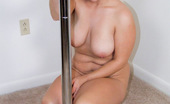 Young Fatties Fat Teen Busty Cuffed To Stripping Pole Gets Nude