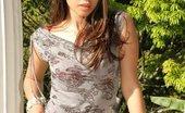 Pamela Spice Pamela Slowly Strips Off Her Polka Dotted Lingerie