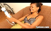 Toticos Cristal - Set 1 - Photo Slutty Skinny Latina Cristal Pleasures Herself Before Blowjob