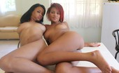Toticos Rihanna And Ashlei - Set 2 - Photo Two Hot Young Dominican Babes Tag Team Crazy Black Guy