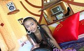 Thainee 18 Year Old Thai Teen Takes A Vibrating Ride On A Sybian Machine