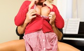 Michelle Thorne Piano Teacher This Not So Innocent Student Is Michelle Thorne Who Wasn'T Expecting Her Piano Teacher To Be Quite So Thorough With His Training! Although She Had Definitely Had Some Previous Experience As She Knew Exactly How To Play With His Big Cock!
