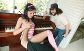 Jurassic Cock Teen Convinces Ron Jeremy Into Giving Piano Lesson And Ron Convinces Her To Fuck!