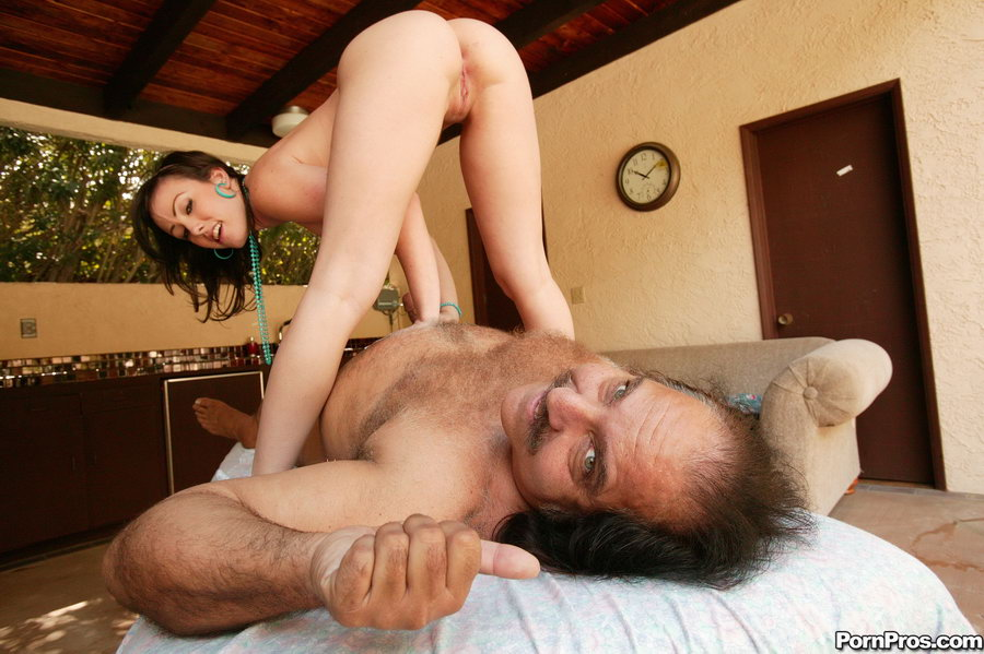 Young Girl Sucks Old Man