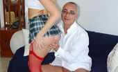 Jim Slip Yasmine Gold Horny Blonde Teenie Gets Stuffed Hard By British Jimslip