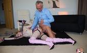 Jim Slip Fuschia Fucking A Cute Horny Schoolgirl In Sexy Stockings Hardcore