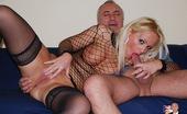 Jim Slip Sarah Horny And Sexy Chick Fucks An Old British Senior Hardcore