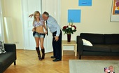 Jim Slip Bibi Noel An Old British Dude Boning A Smoking Hot Blonde Hardcore