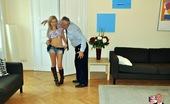 Jim Slip Bibi Noel An Old British Dude Boning A Smoking Hot Blonde Hardcore
