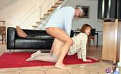 Jim Slip Gallery Th 54486 T Very Horny Old Fellow Licks Nipples Of A Big Horny Girl