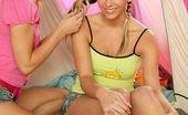 Young Busty Yasmin Aka Heather Wild Two Lesbo Teenage Cuties Pleasing Eachothers Juicy Pussy