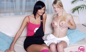 Young Busty Jessica Two Horny Teenage Girlfriends Are Fondling Eachother Naked