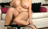 Young Busty Kerry Marie Very Chubby Teenager With Huge Bouncing Titties Masturbates