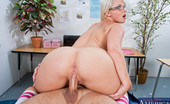 Naughty Bookworms Kimmy Olsen Sexy Blond Student Learns A Lesson In Fucking And Sucking Her Teacher'S Cock.