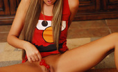 Craving Carmen Carmen Shows Off Her Oral Skills With A Penis Lollipop