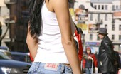 Fuck My Jeans Susan Edwards Black Haired Beauty Wiggles Out Of Tight Jeans To Show Off Hot Ass