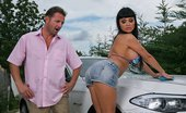Baby Got Boobs Aletta Ocean Aletta'S Car Wash Aletta Offers A Special Service When It Comes To A Car Wash. This Is Only For The Elite And Wealthy....