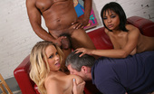 Cuckold Sessions Britney Young Lola Hart Black Cock Destroys White And Black Pussy While A Cuckold Watches