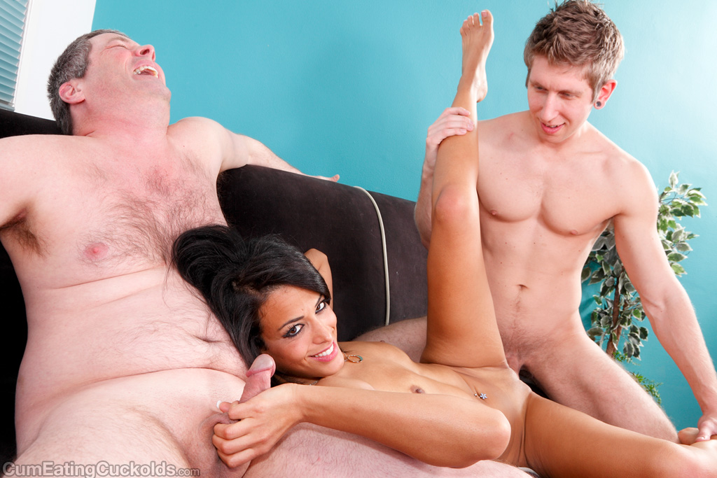 Cuckold jimmy loves the fact his woman fucks other man